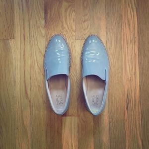 Naturalizer Effie Loafer, Gray Patent, Size 9.5